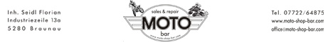 Banner Moto Shop Bar