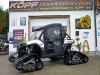 Quadconnection: Polaris RZR-S im Winter-Trimm mit Raupensystem