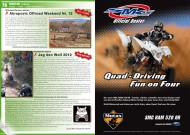 ATV&QUAD Magazin 2012/03, Seite 78-79, Szene / Events; Offroad Center Istrien: Akrapovic Offroad Weekend Nr. 12; Authentic Spirit: Jag den Wolf 2012