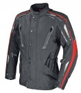 iXS Motorcycle Fashion: Gore-Tex-Jacke Saratov in schwarz-rot