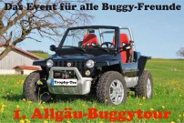 Trophy-Tec & Allrad-Center Pauli: 1. Buggy-Tour im Allgäu am 15. September 2012