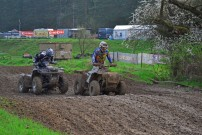 BQC 2014, Auftakt in Horazdovice am 12./13. April 2014: in der ATV Klasse 'Solo' triumphiert Nico Richter auf einer Can-Am Renegade 1000 Xxc