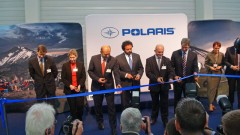 Polaris Produktion in Polen: feierliche Werkseinweihung in Opole am 23. September 2014