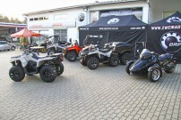 Can-Am Offroad Days 2014: Präsentation der Can-Am Outlander L 450 und 500 bei Zweirad Voit in Mainburg Sandelzhausen