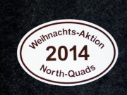 North Quads, Weihnachts Aktion 2014