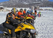 Alpen Challenge 2015 in Garmisch-Partenkirchen: Start in der ATV-Klasse