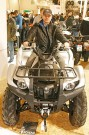 Messe IMOT 2015 in München: Yamaha-Stand mit Grizzly & Raptor; Bild: Gerald O. Andersson
