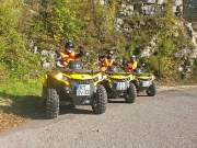 Quadventures and More Quadtouren: unterwegs auf knallgelben Can-Am Outlander 500 ATVs