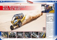 ATV&QUAD Magazin 2015/11-12, Seite 30-33, Test Yamaha YXZ 1000R: Das Supersport Side-by-Side