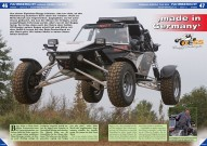 ATV&QUAD Magazin 2015/11-12, Seite 46-49, Fahrbericht; NESS Buggy: Made in Germany