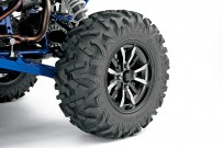 Yamaha Side-by-Side YXZ 1000R: mit 27-Zoll Bighorn-Bereifung von Maxxis