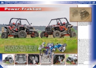 ATV&QUAD Magazin 2017/05-06, Seite 36-37, Präsentation Polaris RZR XP Turbo / XP 1000: Power-Fraktion