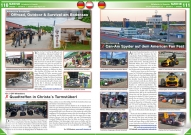 ATV&QUAD Magazin 2017/09-10, Seite 110-111, Erlebnis & Events: Adventure Southside: Offroad, Outdoor & Survival am Bodensee; On / Off Wheelers: Quadtreffen in Christa´s Turmstüberl; Hockenheimring: Can-Am Spyder auf dem American Fan Fest
