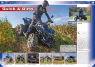 ATV&QUAD Magazin 2017/11-12, Seite 38-41, Test Online X 9.1 / SMC MBX 850: Quick & Dirty