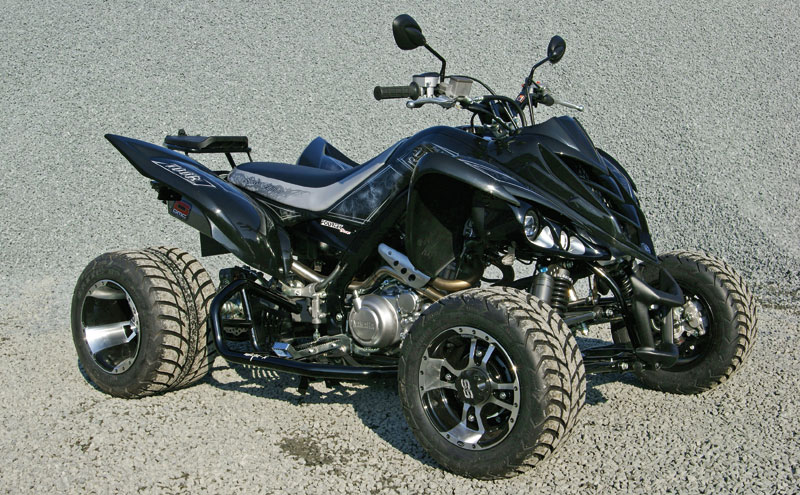 fourtec yamaha yfm 700 raptor ltd 2011 atv quad magazin. Black Bedroom Furniture Sets. Home Design Ideas