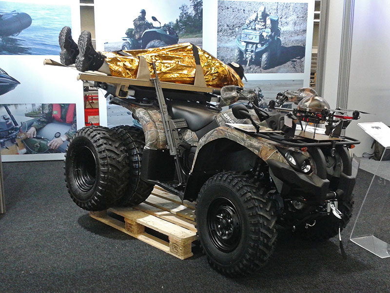 milipol 2015 yamaha polizei und milit rfahrzeuge atv. Black Bedroom Furniture Sets. Home Design Ideas