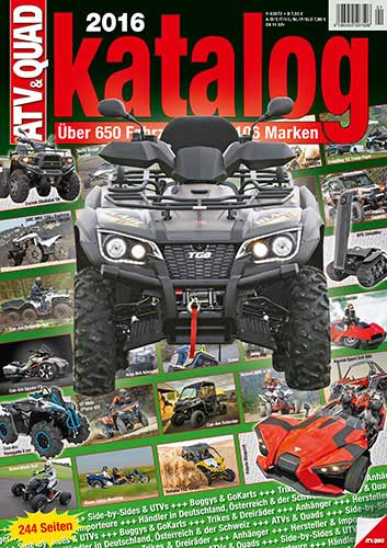 atv quad katalog 2016 atv quad magazin. Black Bedroom Furniture Sets. Home Design Ideas